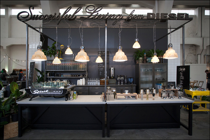 DIESEL Social Kitchen | andrea bianchi studio | show - exhibit ...